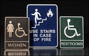 ADA - American Disabilities Act Signage