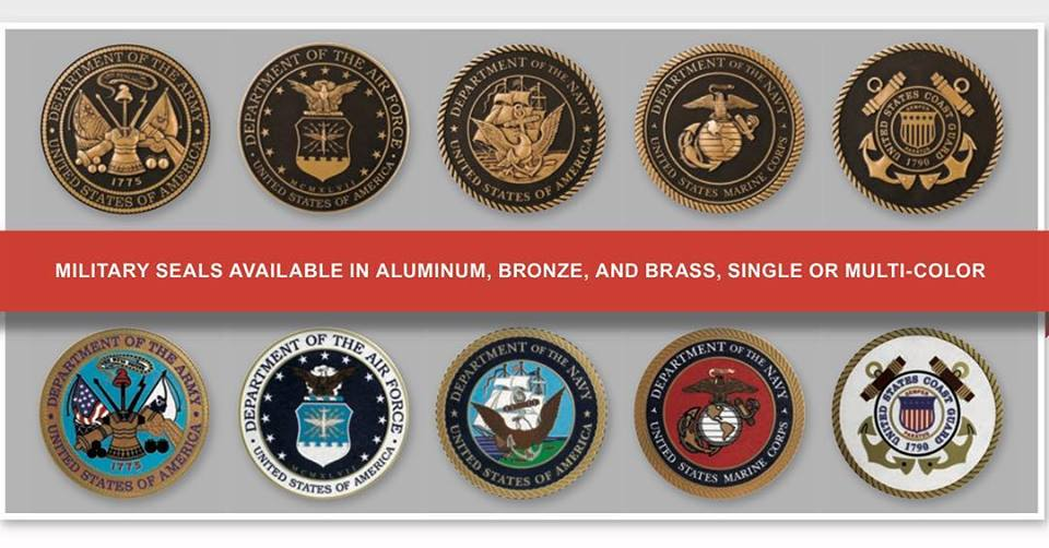 ARK Ramos Signage | Military Seals | Signage Products